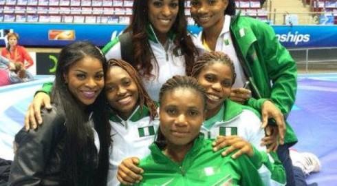 Team Naija Ladies