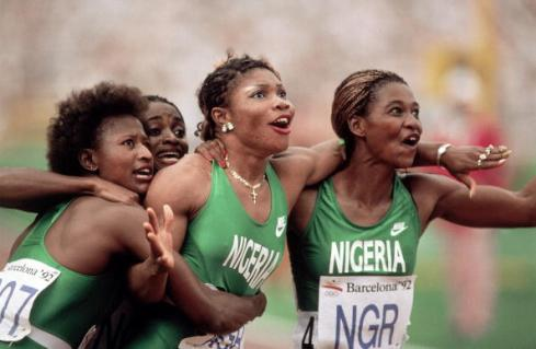 Nigeria Women's Relay Team, 1992 Summer Olympics