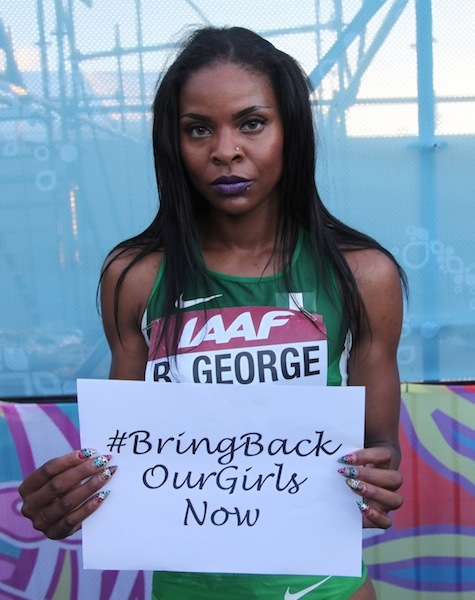 Regina George, Nigerian 4x400m World Relay Bronze Medallist 2014