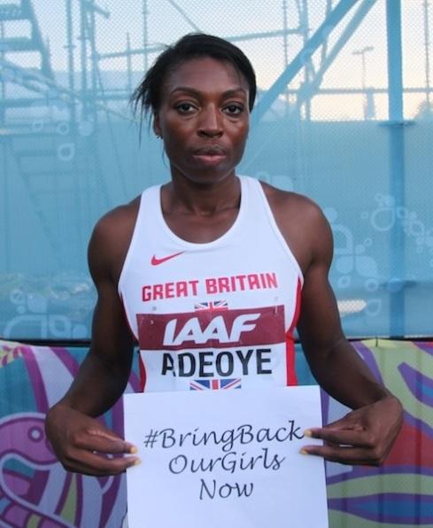 Margaret Adeoye, British 4x400m World Championship Bronze Medallist 2013