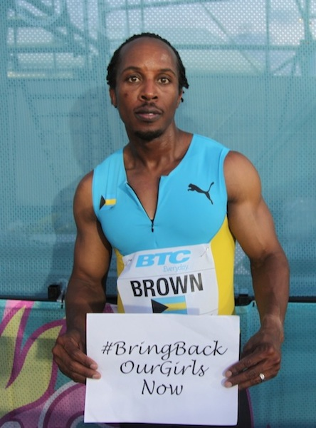 Chris Brown, Bahamian 4x400m Olympic Champion 2012