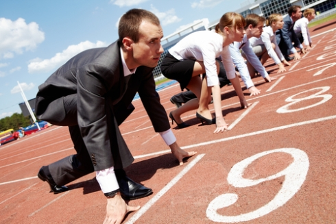 Business-People-Running-a-Track