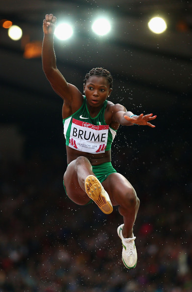Ese Brume Jumping for GOLD 2