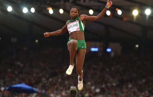 Ese Brume Jumping for GOLD