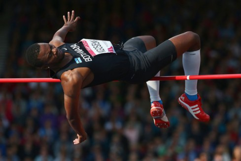 Kabelo Kgosiemang competing at the Commonwealth Games in Glasgow. (Photo Credit: Ian Walton/Getty Images Europe)