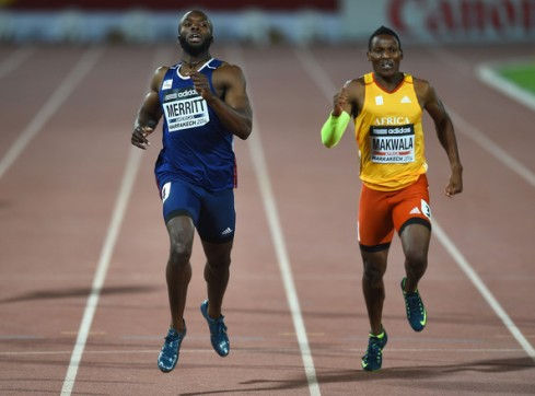 Makwala's magnificient display in the 4x400m relay at the IAAF Continental Cup earned Africa a gold medal. (Photo Credit: Christopher Lee/Getty Images Europe)