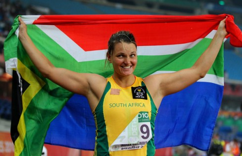 Sunette Viljoen capped the 2014 season with a Silver medal at the Commonwealth Games and fourth African title in Marrakech. (Photo Credit: Cameron Spencer/Getty Images AsiaPac)